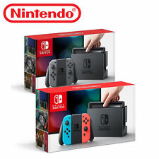 Nintendo Switch 32GB with Joy Console / Neon Red Blue Gray