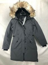 NEW CANADA GOOSE KENSINGTON PARKA GRAPHITE WOMENS XS-XL DOWN AUTHENTIC HOLOGRAM