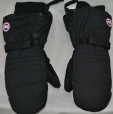 NEW CANADA GOOSE WOMENS DOWN MITTS INSULATED WARM AUTHENTIC HOLOGRAM BLACK S-L