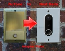 Nest Hello Doorbell adapter plate Nutone and M&S intercom systems