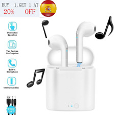 Airpods Twins i7s inalámbrico Bluetooth para auriculares i Phone ios + Android
