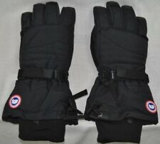NEW CANADA GOOSE WOMENS DOWN GLOVES INSULATED WARM AUTHENTIC HOLOGRAM BLACK S-L