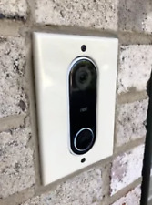 FLUSH MOUNTABLE Nest Hello Doorbell adapter plate intercom systems