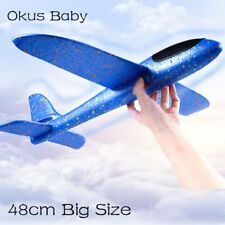 48cm Big Size Hand Launch Throwing Glider Aircraft Inertial Foam EPP Two Modes