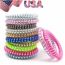 20 25 PCS Colorful Elastic Telephone Wire Cord Head Ties Hair Band Rope Ponytail