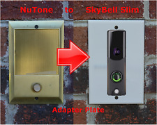SkyBell Slim Doorbell adapter plate for Nutone and M&S intercom systems