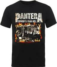 Pantera Cowboys From Hell Grueso Basura Metal Rock Grupo Musical Camiseta