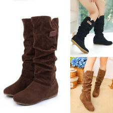 Long Boots Half Boots knee high boots Thigh Suede Over The Knee Shoes Winter