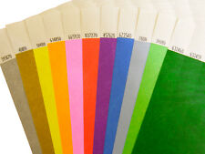 Plain Tyvek Wristbands 100 to 500 (19mm)