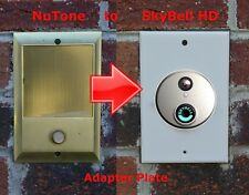 SkyBell HD doorbell adapter plate Nutone and M&S intercom systems