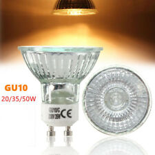 110/220V Halogen GU10 Spotlight Lamp Warm White Bulb For Home Office 20W/35W/50W