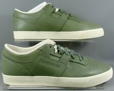 42b19291ac2636 Reebok Classic Workout Low Clean FVS LUX Sneaker Green M49377 sizes UK 7  and 9