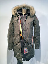PARAJUMPERS (ITALY) MARILYN WOMEN'S WINTER DOWN COAT, 100% GENUINE, ARMY, SIZE L