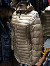 PARAJUMPERS ITALY IRENE WOMEN'S DOWN COAT, 100% GENUINE, CAPPUCCINO, SIZE M