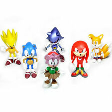 6/1x Cute Game Sonic the Hedgehog Action Figures Doll Set Kids Boy Girl Toy S149
