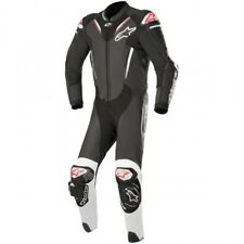 Alpinestars Atem V3 Leather Race Motorcycle 1 Piece Suit - Black / White