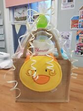 Baby Shower Pampers & Johnsons Nappy Cake in Re-usable Tote Bag