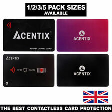 ACENTIX RFID/NFC Blocking Credit/Debit Card Protector Contactless Signal Blocker