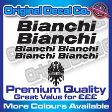 Premium Quality BIANCHI Decals Stickers mountain bike road frame mtb