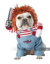 California Costumes Deadly Doll Chucky Dogs Pets Halloween Costume PET20157