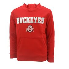 Ohio State Buckeyes Official NCAA Kids Youth Size Athletic Hooded Sweatshirt New