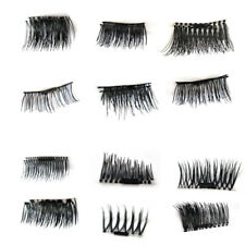 Magnetic False Eyelashes 12 types 1 Pair Corner Daily Natural Fake Eye Lashes