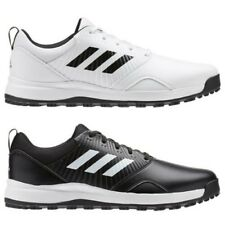 37cd3c1575b adidas Golf Mens 2019 CP Traxion SL Spikeless Leather Lightweight Golf Shoes