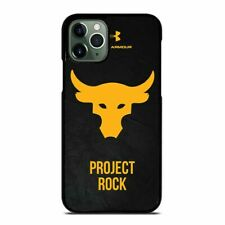 UNDER ARMOUR PROJECT ROCK iPhone 6/6S 7 8 Plus X/XS Max XR Case Cover