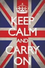 Poster Keep Calm and Carry On Keep Union Jack 61 x 91.5cm