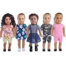 NEW Exquisite Handmade 18inch American Girl Doll Clothes Dress Suit Accessories