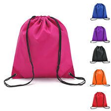 Drawstring Bag Lightweight Sports Backpack For Swimming Gym Beach Camping  Travel fd1220f1eab67