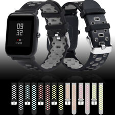 Breathable Sport Soft Silicone Wirstband Strap Band For Huami Amazfit Bip Watch