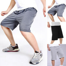 3ad0334353a Trousers Shorts Solid Color Running Lace Up Loose Baggy Hip-Hop Plus Size  Denim