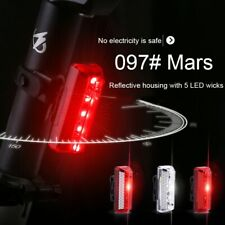 USB Rechargeable Bicycle Rear Light Cycling LED Taillight Waterproof MTB Road