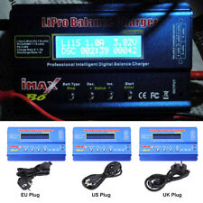 IMAX B6 RC 80W Balance Charger LCD Screen for Lipo NiMH NiCd Battery + Adapter