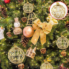6Pcs Christmas Tree Xmas Balls Decoration Baubles Party Wedding Orname GF