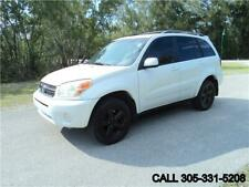 2005 RAV4 RAV4 L 4X4 CARFAX CERTIFIED NO DEALER FEES
