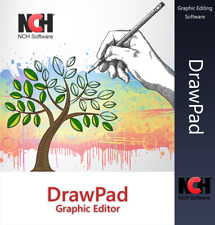 Graphic Design Graphic Drawing Software | Lifetime License | Email Delivery Now!