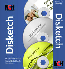 CD & DVD Disc Label Making Software | Lifetime License | Instant Email Delivery