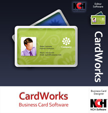 Business Card Design Print Software | Lifetime License | Instant Email Delivery