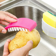 Kitchen Sink Spoon Cutlery Cleaners Dish Washing Cleansing Sponge Brush Tool