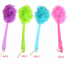 Shower Scrubber Loofah Sponge Bath Back Body Brush with Long Handle