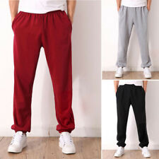 798d0c527 Mens Long Casual Sports Pants Gym Loose Trousers Running Hip Hop Jogging  Sweats