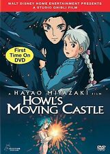 Howls Moving Castle DVD New Sealed 2 Disc Set Hayao Miyazaki R1 Rated PG Anime