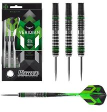 Harrows Veridian 90% Tungsten Steel Tip Darts 21g,22g,23g,24g,25g,26g Dart