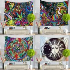 Indian Hippie Psychedelic Mandala Tapestry Art Wall Hanging Bedspread Home Deco