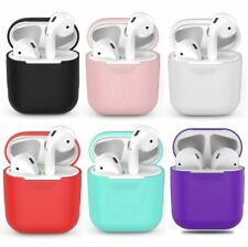 AirPods Silicone Protective Rubber Case Cover for Apple Air pod Charging Case