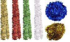 Festive Quality Chunky Christmas Tinsel - 38grm - Various Colours - 2 Meter