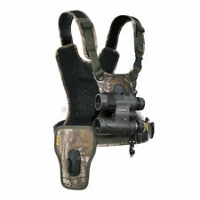 Cotton Carrier CCS G3 Adjustable Harness System for Binoculars and One Camera