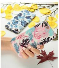 Tropical Leaves Flamingo Case for Samsung Galaxy S8 S9 Plus S7 Note 9 8 A3 A5 A7